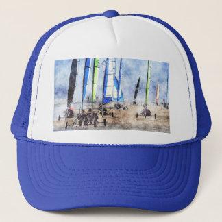 Cefn Sidan Blokart Racing Competition Trucker Hat