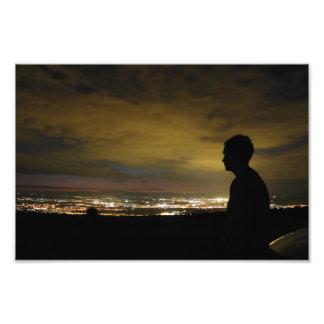 Cegadora luz insomne fotografía
