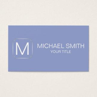 Ceil color background business card