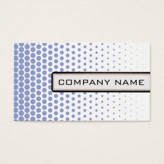 Ceil Polka Dot Elegant Modern White Business Card