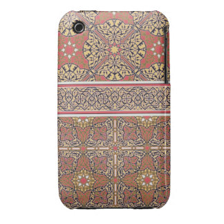 Ceiling arabesques from the Mosque of El-Bordeyny, iPhone 3 Case-Mate Case