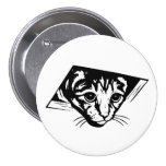 Ceiling Cat 3 Inch Round Button