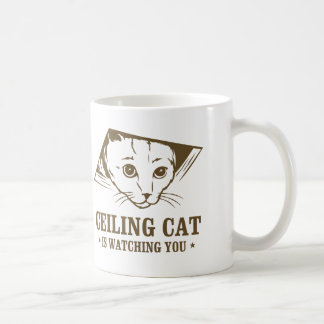 Ceiling Cat is Watching You Coffee Mug