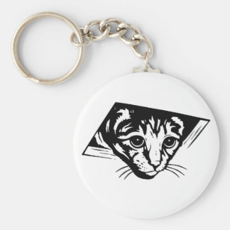Ceiling Cat Keychain