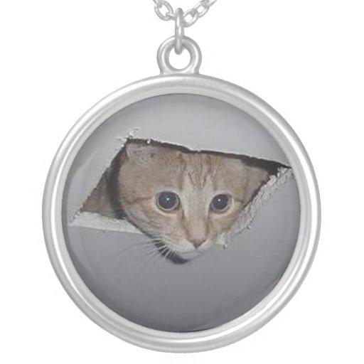 Ceiling Cat Necklace