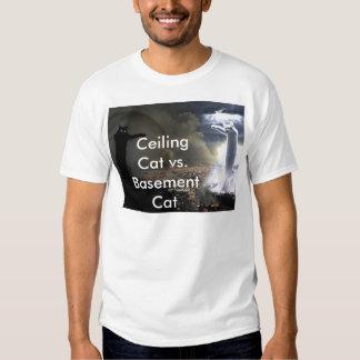 Ceiling Cat vs. Basement Cat Shirt