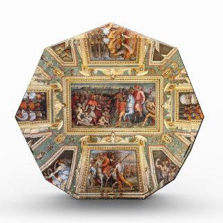 Ceiling decoration Palazzo Vecchio Florence Giorgi Acrylic Award
