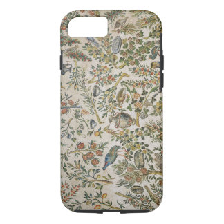 Ceiling decoration with flowers and birds (mosaic) iPhone 7 case