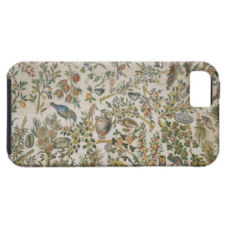 Ceiling decoration with flowers and birds (mosaic) iPhone SE/5/5s case