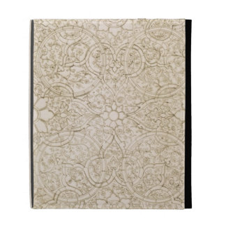 Ceiling design for the Pearl Room, in Isfahan, fro iPad Folio Cover