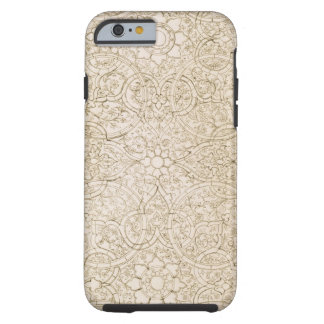 Ceiling design for the Pearl Room, in Isfahan, fro Tough iPhone 6 Case
