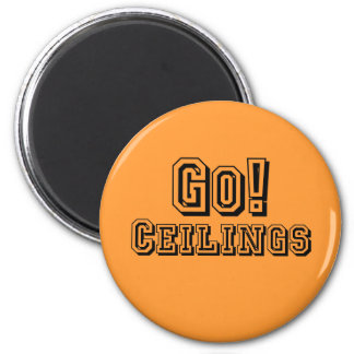 CEILING FAN COSTUME 2 INCH ROUND MAGNET