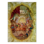 Ceiling Fresco at Beuggen Castle Church Germany Card
