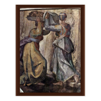 Ceiling Fresco For The Story Of Creation In The Postcard