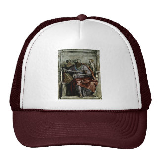 Ceiling Fresco For The Story Of Creation In The Si Trucker Hat