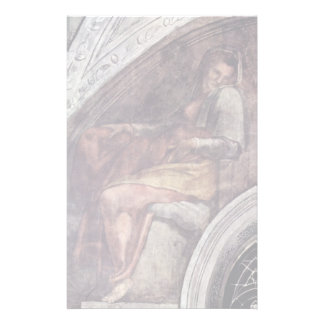 Ceiling Fresco For The Story Of Creation In The Personalized Stationery
