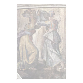 Ceiling Fresco For The Story Of Creation In The Customized Stationery