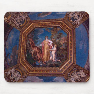 Ceiling in the Vatican in Rome, Italy Mouse Pad