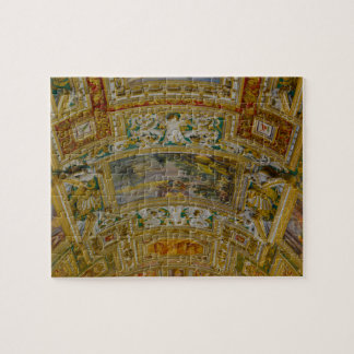 Ceiling in the Vatican Museum in Rome Italy Jigsaw Puzzle