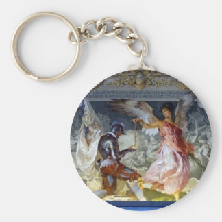 Ceiling in the Vatican Museum Keychain