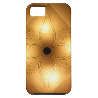 Ceiling Light Fixture – Square with 4 Lights iPhone 5 Case