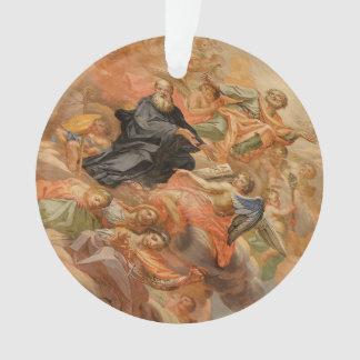 Ceiling Mural Church of San Giuseppe Italy Ornament