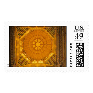 Ceiling of Mosque Islamic Postage Stamp