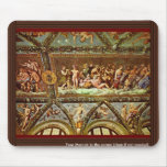 Ceiling Of The Loggia Di Psyche By Raffael Mouse Pad