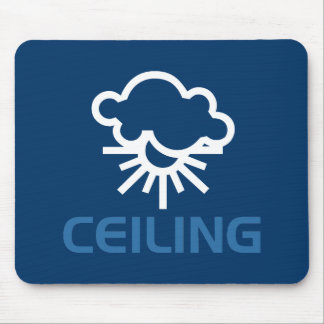 Ceiling - Weather Sun & Clouds Mouse Pad