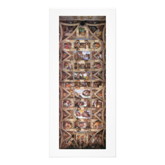 CeilingofSistineChapel Rack Card