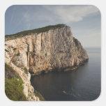 Ceja Caccia, Alghero, Cerdeña, Italia Pegatina Cuadrada