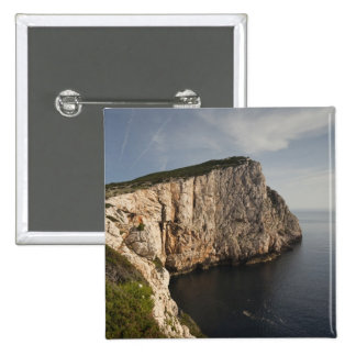 Ceja Caccia, Alghero, Cerdeña, Italia Pin Cuadrada 5 Cm