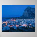 CEJA de Italia, Sicilia, SAN VITO LO, ciudad de va Posters