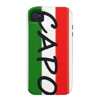 ¡CEJA, medios BOSS de la ceja! en italiano y españ Case-Mate iPhone 4 Fundas
