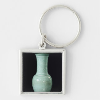 Celadon glazed vase, Yuan Dynasty Keychain