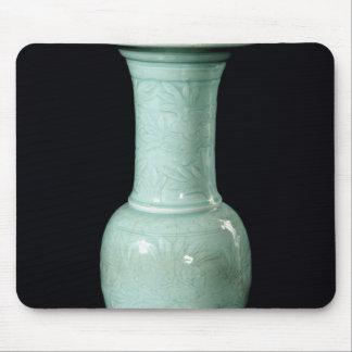 Celadon glazed vase, Yuan Dynasty Mouse Pad