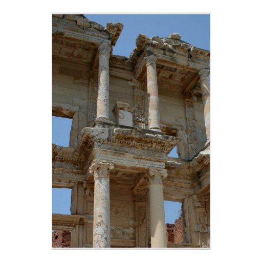 Celcus Library, Ephesus Poster