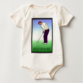 Celeb golfer baby bodysuit