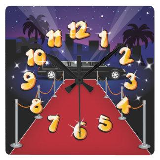 Celeb Star movies Square Wall Clock