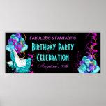 Celebración 2 de la fiesta de cumpleaños de la ban posters
