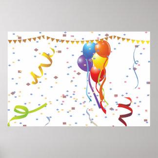 Celebración 2 del cumpleaños impresiones