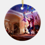 Celebración abstracta de Peter Pan de la fantasía Ornamentos De Navidad