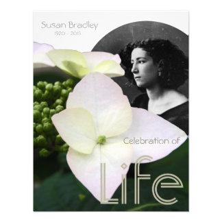 Celebración adaptable de la vida con el retrato -