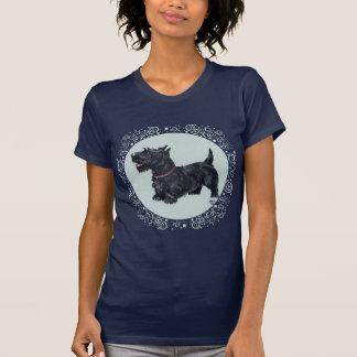 Celebración agradable de Terrier del escocés Camiseta
