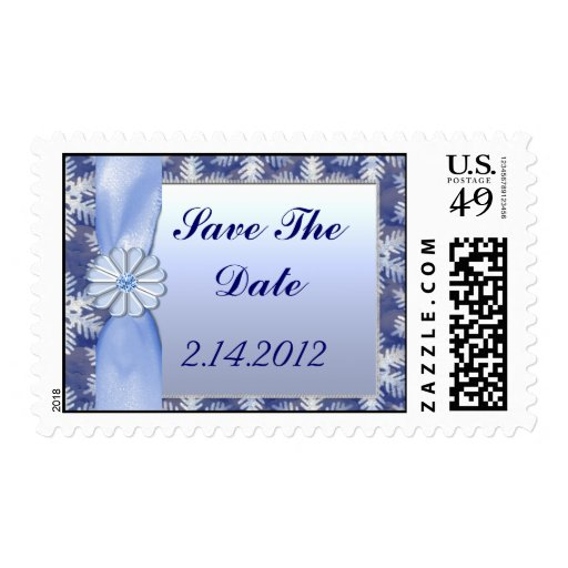 Celebración azul cristalina del copo de nieve envio