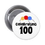 Celebración de 100 pin