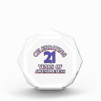 Celebración de 21 años de awesomeness
