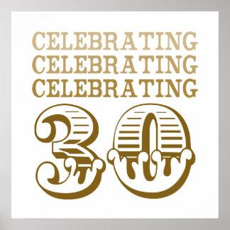 ¡Celebración de 30! (Fiesta de cumpleaños) Póster