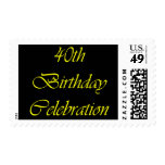 Celebración de 40 cumpleaños