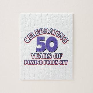 Celebración de 50 años de infierno de aumento puzzle